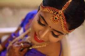 Bridal makeup , facial,mehendi, pedicure