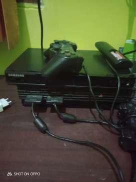 Di jual ps2 hardisk plus 2stik dan kabel dengan harga Rp 500.000