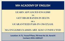 Advanced English for IELTS or CSS