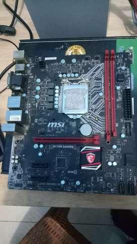 Mobo msi H110 gaming DDR4