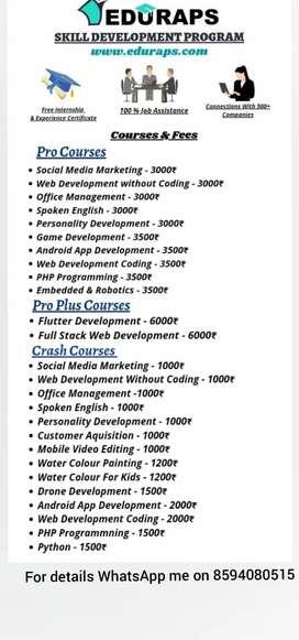 Eduraps skill development program