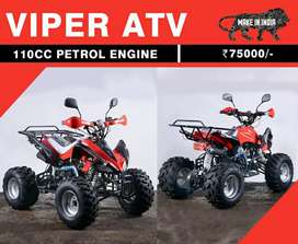 New 110 cc Viper Atv Available For Sale