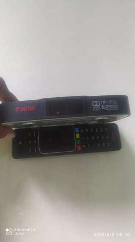 Airtel HD set top box  only 4 month use