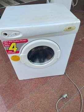 Washing dryer