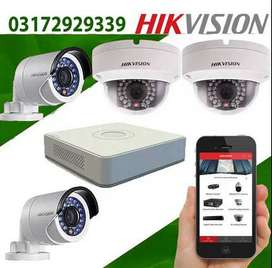 CCTV For Home/Office Security With Mobile Access