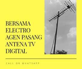 Terima pasang sinyal antena tv analog terdekat nanggung