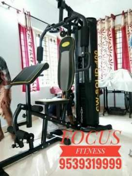Home Gym Equipments At Focus Fitness