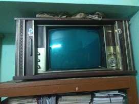 Weston black and white TV(casino) 21 inch..