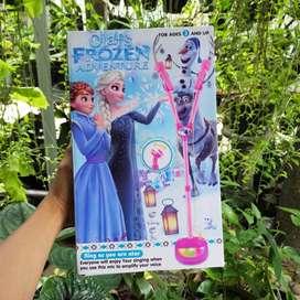 Mainan Anak Microphone Double Frozen Termurah