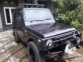 Suzuki jimny katana 1997 m/t 4x2 pajak panjang.