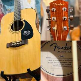 Fender USA Acoustic Guitar (Manufactured in Indonesia)