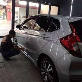 salon mobil dan motor nano coating ceramic paint protect laminating 9H