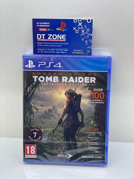 PS4 Shadow of tomb raider : definitive edition brand new sealed pack