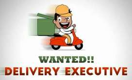 Looking for delivery executive.