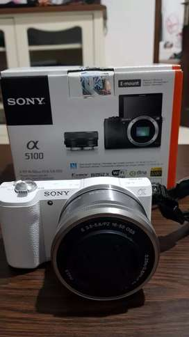 Kamera mirrorless Sony a5100 perfect