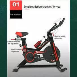 Alat fitnes murah sepeda spining lifesport bisa bayar di tempat