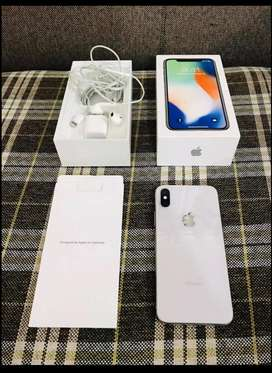 iPhone X Pta Approved Complete Accessories with Box