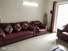 5seater sofa with center table