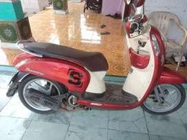 Honda scopy thn 2014 barang mulus