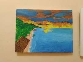lukisan alam murah