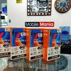 Tecno Spark 4 Boxed Pack 3GB 32GB