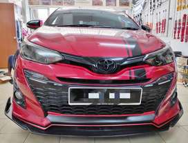 TOYOTA YARIS 2019 MODEL ON EASY EMI WITH 20%D.P ONE STEP SOLUTION
