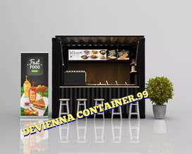 Booth bazar booth container custom booth angkringan minuman