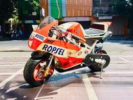 Mini MotoGP 50cc Racing Type Upgrade Mesin Balap Hokky Malkot