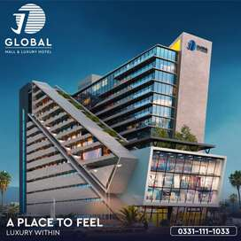 Shop at ideal location in mega mall
