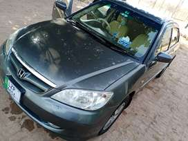 Honda Civic 2005 Asan Iqsat pay hasil kran