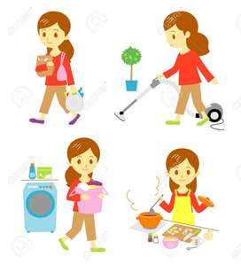 House Kitchen help and maid