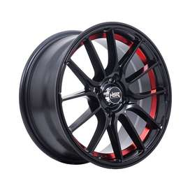 mimosa ring 15 h4(100) black red utk mobil mirage,march,ford fiesta