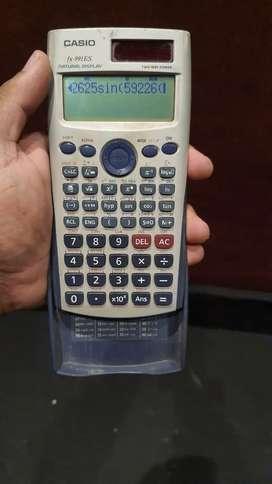 Casio fx-991ES scientific calculator (2 way power)