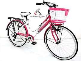 Sepeda keranjang phoenix CTB 26 - SP 116
