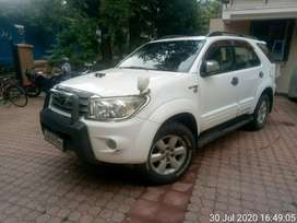 Fortuner with Full service history till date with new like condition