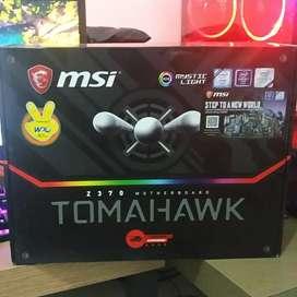 Mainboard MSI z370 Tomahawk + Inter core i3 8100 3.6ghz