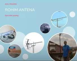 juwal antena tv yagi digital dan pemasangan