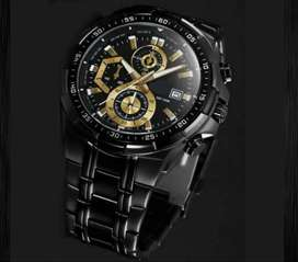 Edifice stainless steel watch on CASH ON DELIVERY price negotiable HRY