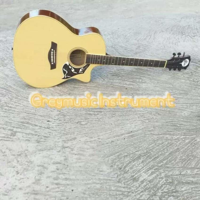 Gitar akustik natural greymusik seri 719 0