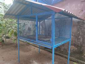 Less used Hen cage