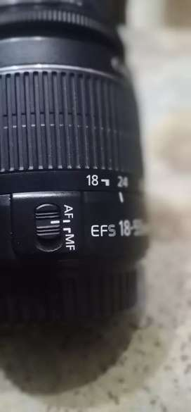 Canon camera 700d with 18 55lens