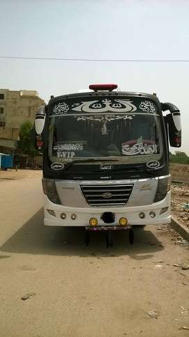 Hino Coach 2015 on Easy EMI process 20%D.P One Step Solution Pvt.Ltd