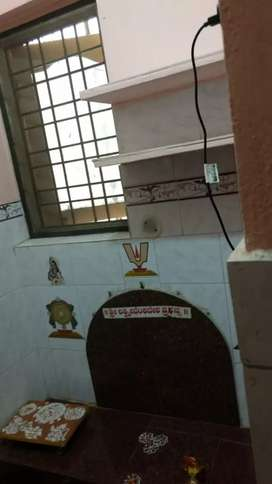 2 bhk semi furnished independent house
