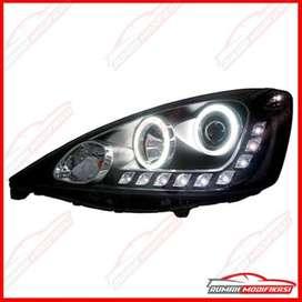 READY Headlamp Proyektor LED Honda New Jazz 2008 Up ori Eagle eyes