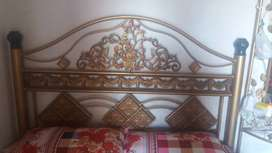 Iron bed full 18 gege
