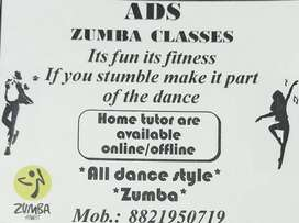 Zumba fitness trainer and dance classes