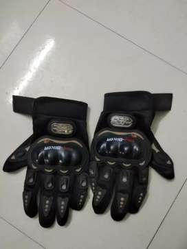Pro Biker Riding Gloves for Motorcycle Size :Large.Palm Width:8.5-9cm