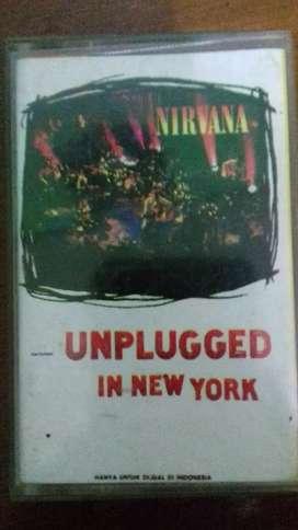 Kaset pita nirvana unplugged in new york