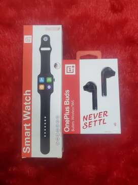 One Plus Smart Watch and Buds Combo