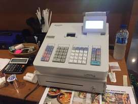 Mesin Kasir Cash Register Sharp XE A177 - Dual Display - Baru